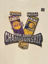 Vintage NBA Finals 2000 Lakers Vs Pacers T-Shirt XXL Kobe Bryant - NEW