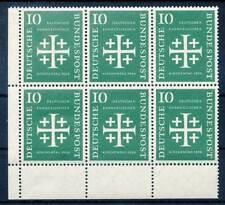 280869) Bund ER 6erBlock Nr.235** dt. ev. Kirchentag