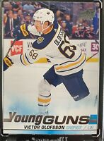 2019-20 Upper Deck Series 1 Victor Olofsson Buffalo Sabres Young Guns Rookie RC