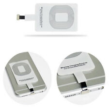Ultra Delgado Qi Inalámbrico Cargador Receptor de carga de energía para iPhone 5/5s/5c/6/6s/7