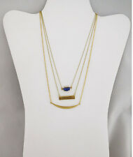 MACY'S Inspired Life Multi-Layer  Message Pendant Necklace Msrp $25 *NWT*