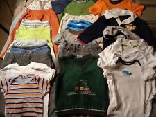 Lot of 22 pieces, boys 9-12 months clothing outfits.