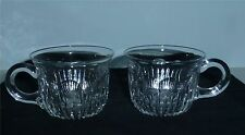 2 Pairpoint Cut Glass Punch Cups Cambridge Pattern