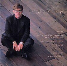 ELTON JOHN : LOVE SONGS / CD - TOP-ZUSTAND