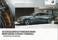 BMW SERIE 5 GRAND TURISMO CATALOGUE KATALOG CATALOG - ACCESSOIRES D'ORIGINE BMW