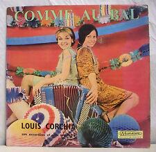 """33 tours LOUIS CORCHIA Disque Vinyle LP 12"""" COMME AU BAL - MUSIDISC 950 F Réduit"""