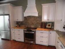 Hatteras White Maple Kitchen Cabinets-Sample Door-RTA - All Wood- ship anywhere