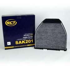 Innenraumfilter Aktivkohle Pollenfilter SCT MERCEDES C W204 E W212 GLK X204 SL