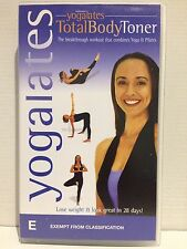 SOLOMON YOGALATES 2 TOTAL BODY TONER~VHS VIDEO~LOSE WEIGHT/LOOK GREAT IN 28 DAYS