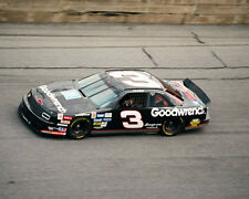 DALE EARNHARDT SR #3 GM GOODWRENCH CHEVY ON TRACK 8X10 GLOSSY PHOTO #R7