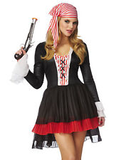 Womens Pirate Captain Pirates Of The Caribbean Jack Sparrow Halloween Costume