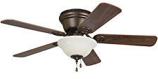 "Craftmade Wyman Bronze Wyman 42"" 5 Blade Indoor Hugger Ceiling Fan"
