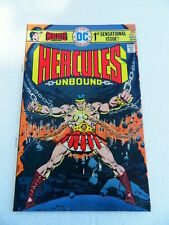 Hercules Unbound 1 .  J.L.G Lopez / Wally Wood - DC  1975 -  FN / VF