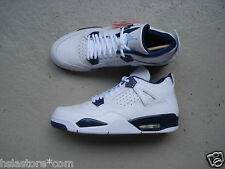 Nike Air Jordan 4/IV Retro LS 45.5 White/Legend Blue-Midnight Navy