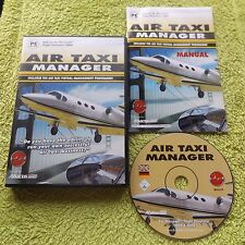 AIR TAXI MANAGER PC CD-ROM V.G.C. FAST POST ( add-on for flight simulator 2004 )