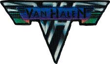 110042 Van Halen Metal Logo Rainbow Banner Rock Music Band Sew Iron On Patch
