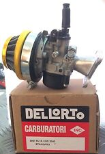 Carburatore Dellorto 2043 15.15 SHA +Filtro+Collettore Mini Moto Mini Cross Quad