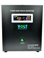Off Grid Pure Sine Wave Inverter Charger Sinus Pro 800W 12V /240V  20A  AVR UPS