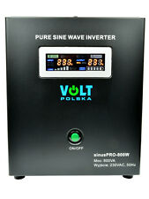 Off-Grid Pure Sine Wave Inverter Charger Sinus Pro 800W 12V /240V  10A  AVR UPS