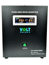Off-Grid Pure Sine Wave Inverter-Charger Sinus Pro 500W 12V/240V 10A  AVR UPS