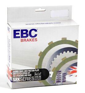 SRK084 EBC Complete Clutch Rebuild Kit for Kawasaki ZX6R (ZX636C1/C6F) 2005-2006
