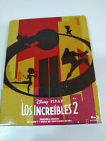 Los Incredibile 2 Disney Pixar Steelbook 2 X Blu-Ray + Extra Spagnolo English Am