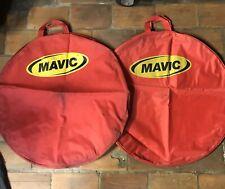 Rare Vintage MAVIC WHEELS BAGS  Collector road Track Pista France