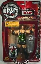 Rob Van Dam WWF Unchained Fury RAW action figure NIB RVD Jakks Pacific WWE NIP