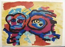 ''Mother and Little Boy'' Colorful Abstract Piece by Karel Appel