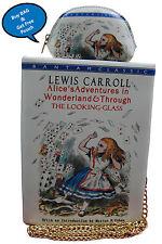 Novelty Alice in wonderland book shaped new lady's handbag / Shoulder bag