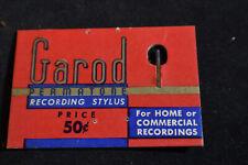 VINTAGE Garod Permatone Recording Stylus