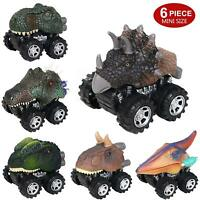 Dinosaur Car Pull Back Vehicle Mini Animal Car Child Toy Birthday Gift W5H