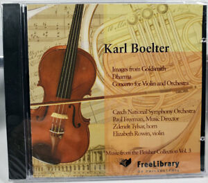 Karl Boelter: Images from Goldsmith; Dharma; Concerto; CD 2003 New in Wrap