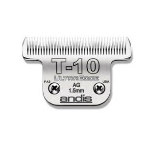 Andis UltraEdge Detachable Wide Blade, Size #T-10 - Leaves 1.5mm Fits Andis, Wah