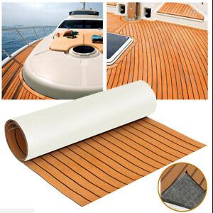 94''X23'' Marine Boat Teak Decking Sheet Stripe Floor Carpet EVA Foam #6