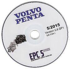 Volvo Penta EPC 2015 marine & industrial engines parts catalogue