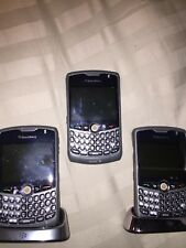 (3) Sprint Blackberry Curve 8330 .  AS IS .   USE FOR PARTS.  Still function