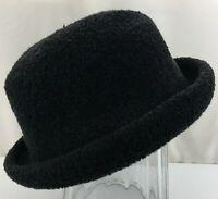 Togo Women's Rolled Brim Hat Black