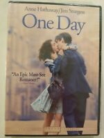 One Day DVD Anne Hathaway NEW TEAR IN SHRINK WRAP FREE S/H  ROMANCE