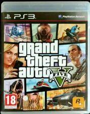 GTA 5 V GRAND THEFT AUTO THEF  gioco playstation 3 ps3 ita