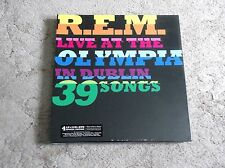 R.E.M. - LIVE AT THE OLYMPIA ; RARE S-Deluxe Edition 4-LP 2-CD DVD Box Set ; New