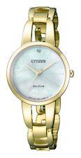 CITIZEN EM0432-80Y Eco-Drive Ladies Solar Watch WR50m Diamond RRP $499.00