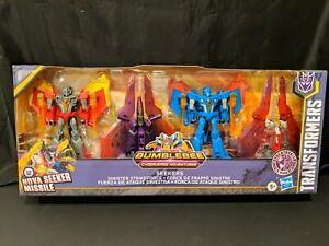 Transformers Bumblebee Cyberverse Adventures Seekers Sinister Strike Force 4-pck