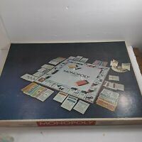 Vintage 1974 MONOPOLY Board Game ANNIVERSARY EDITION Parker Brothers READ