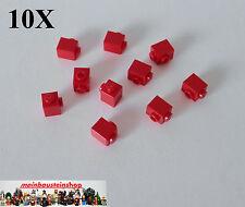 10X Lego 87087 Basic Steine Konverter 1X1 m. 1 seitl. Noppen Rot Red NEU