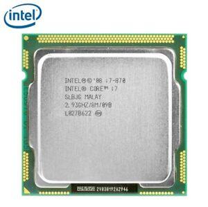 Intel Core i7-870 Quad-Core 95W i7 870 Processor 8M Cache 2.93GHz LGA 1156