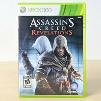 Assassin's Creed Revelations Microsoft Xbox 360 Game Complete CIB Tested Working