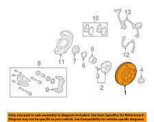 TOYOTA OEM Front Brake-Disc Rotor 4351248110