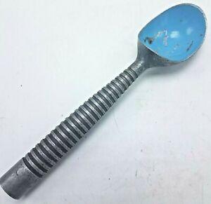 Vintage Aluminum Ribbed Ice Cream Scoop