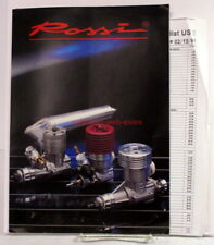 Rossi Catalog~1991~R/C Engines,Plane,Helicopter, Car,Boat,Fan,Parts~w/Price List